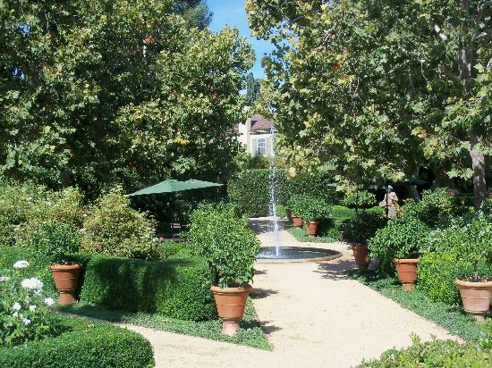 Chateau St. Jean: another view of the gardens