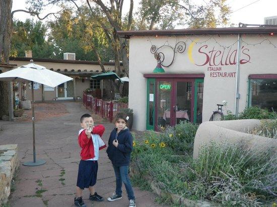 Stella's Italian Restaurant: outside of stella's