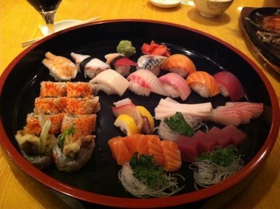 Toyama Japanese Restaurant : The Deluxe Sushi