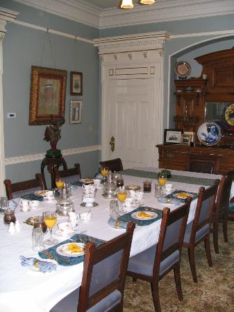Albion Manor Bed and Breakfast: Breakfast