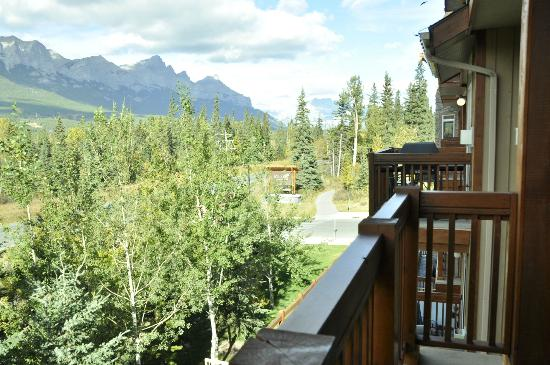 Falcon Crest Lodge by CLIQUE: View from the balcony