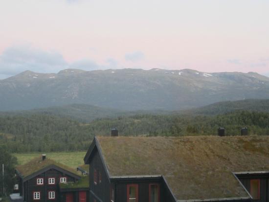 Rauland Hogfjellshotell: Mountain view