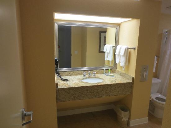 Allure Resort International Drive Orlando: Lavamanos/Lavabo 