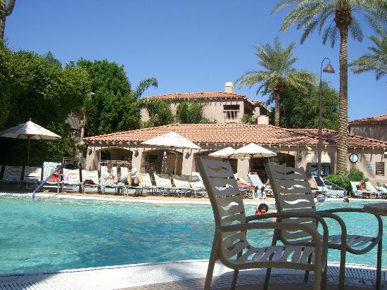 Sheraton Desert Oasis: Pool area.