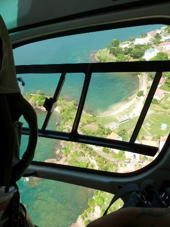 Sandals Regency La Toc: Helicopter view