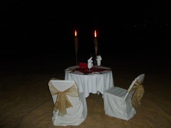Sandals Regency La Toc Golf Resort and Spa: Private dinner