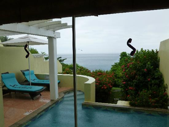 Sandals Regency La Toc Golf Resort and Spa: Our private pool
