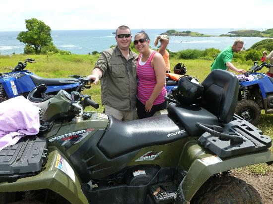Sandals Regency La Toc Golf Resort and Spa: ATV Adventure