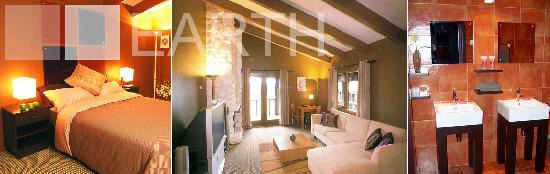 Takaro Lodge: Interior of Earth Element Chalet at Takaro Luxury Lodge