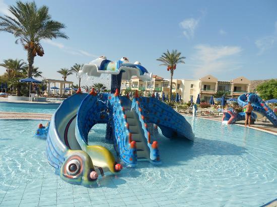 Lindos Princess Beach Hotel Kids Swimming Pool Area