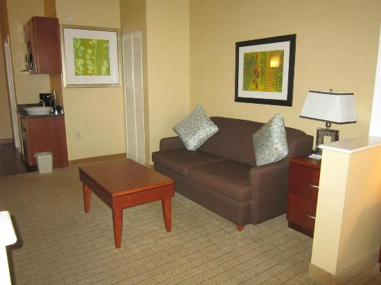 Holiday Inn Express Denver Airport: sitting area