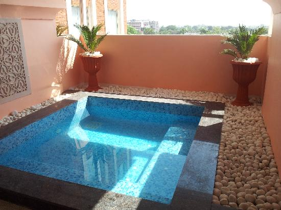 Hotel Royal Orchid, Jaipur: Plunge pool in room