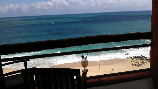 Westin Resort & Spa Los Cabos: View from my balcony (with complimentary Margarita received at check-in)