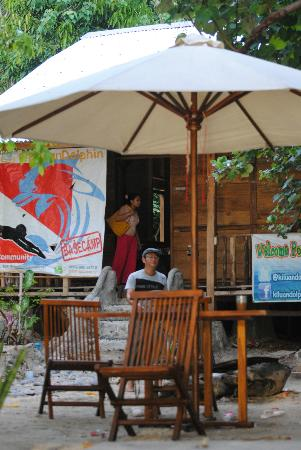 Teluk Kiluan: Pondok / ecolodge Anak abah