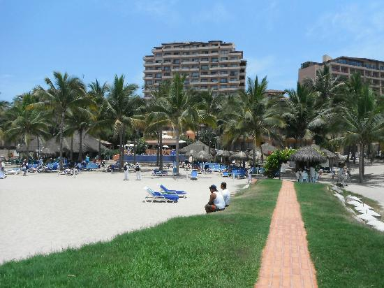 Friendly Vallarta Resort: from the massage hut on the beach
