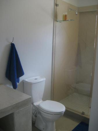 Plett Beachfront Accommodation: Gorgeous shower
