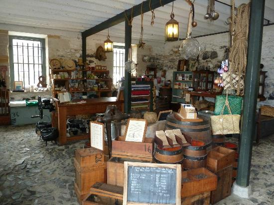 The Pear Tree: Inside Stone Store
