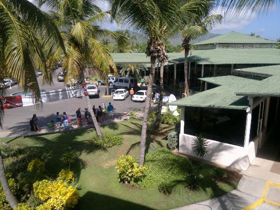 Isla Caribe Beach Hotel: esta es la vista del la zona