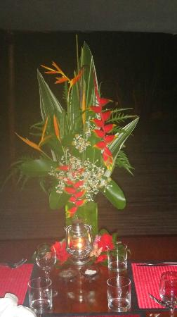 Navutu Stars Fiji Hotel & Resort: Flowers for my birthday