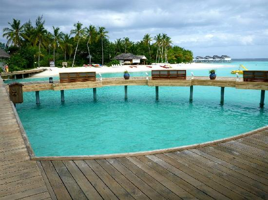 Centara Grand Island Resort & Spa Maldives: View near Aqua Bar