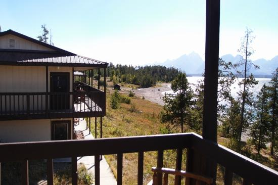 Signal Mountain Lodge: view from deck