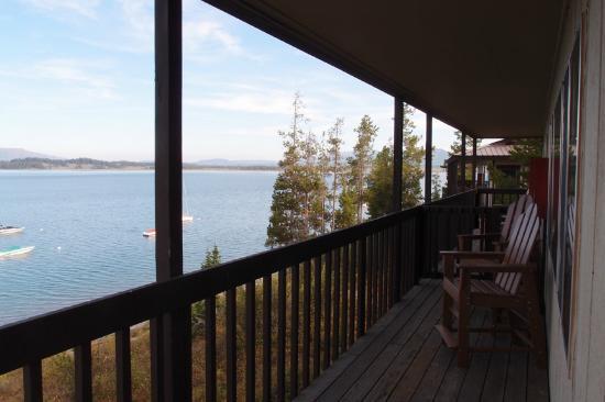 Signal Mountain Lodge : deck
