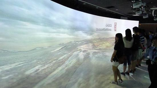Hong Kong Museum of History: Multimedia effects at the exhibition (4)