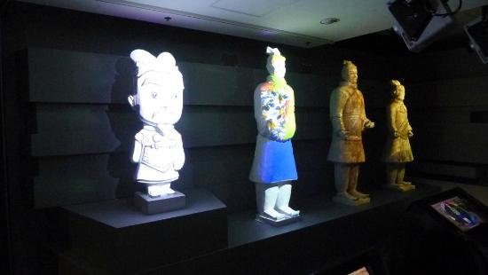 Hong Kong Historiske Museum: Visual affects - a exhibit for kids