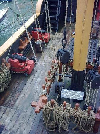 Golden Hind Museum Ship: Port maindeck