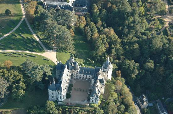 L'Envol : Château de Fougères sur Bièvres