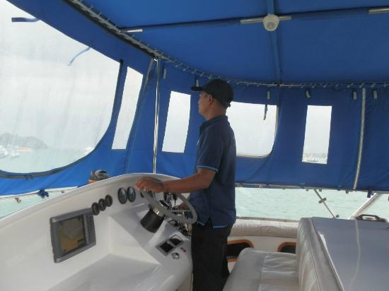 Phuket Sailing Adventures : Our Driver