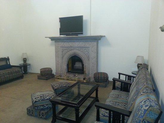 Hotel Padmini Nivas: The common room