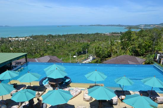 Mantra Samui Resort: View from our Cosy Room