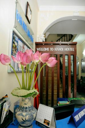 Hanoi Hostel: Reception