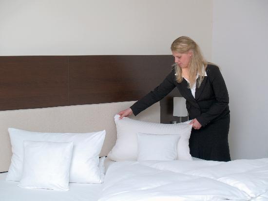 Hotel Esplanade: First Class Zimmer