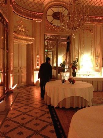 Le Meurice: salon Pompadour