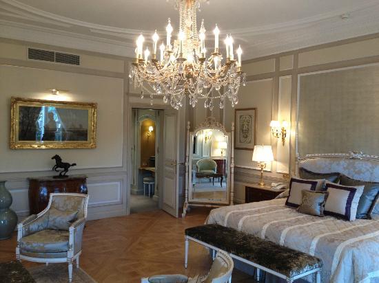 Le Meurice: chambre de la suite présidentielle