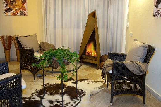 Hotel Residence Flora Meran: Lounge