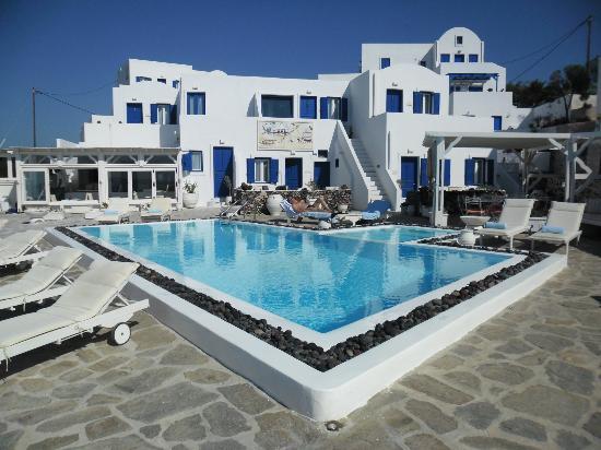 Santorini's Balcony: vue d'ensemble de l'hôtel