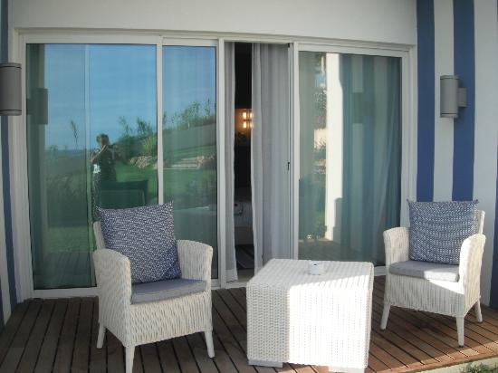 BELA VISTA Hotel & SPA: ground floor room terrace