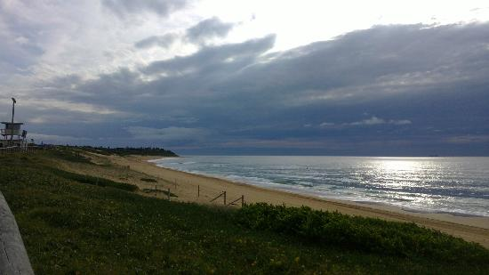 Shelly Beach - early morning - looking north