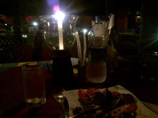 Mountain Trail Resort: Candle Light Dinner