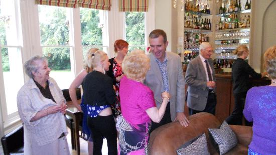 The family meets and greets in the bar picture of beechfield house beechfield house the family meets and greets in the bar m4hsunfo