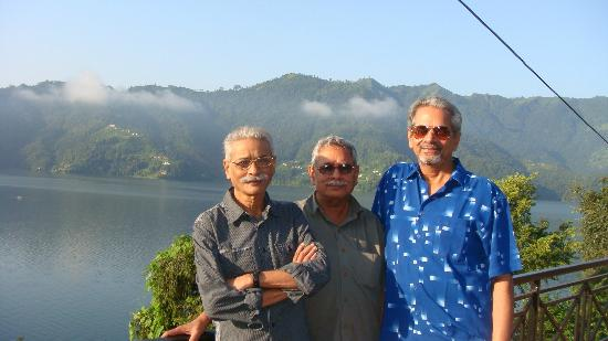 Waterfront Resort Hotel: Thre Three brothers !