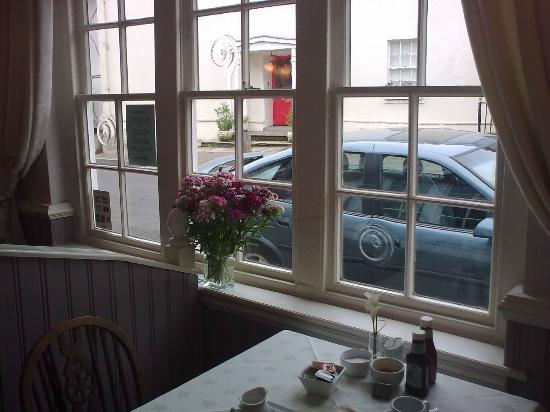 The Rose and Crown Inn: In the breakfast room