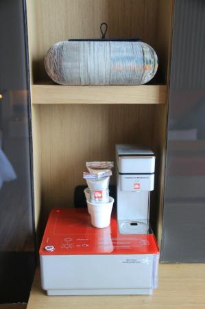 SO Sofitel Bangkok: in room coffee making machine ily make