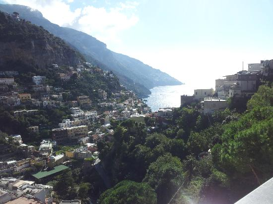 Hotel Royal Positano: Panorama camera