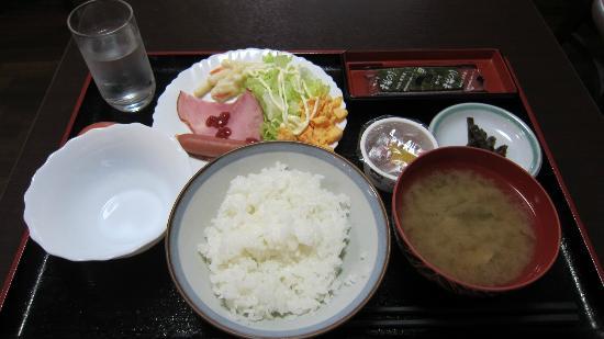 Business Hotel Junwa: 軽めの朝食