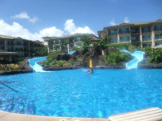 Waipouli Beach Resort: ウオタースライダー2本