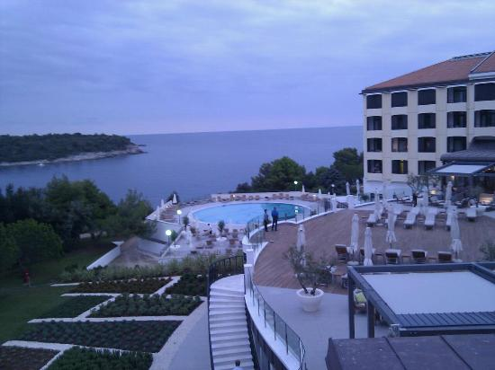 Park Plaza Histria Pula: view from the room balcony